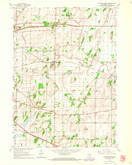 Download a high-resolution, GPS-compatible USGS topo map for Cottage Grove, WI (1964 edition)