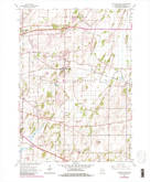 Download a high-resolution, GPS-compatible USGS topo map for Cottage Grove, WI (1983 edition)