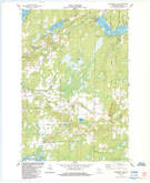 Download a high-resolution, GPS-compatible USGS topo map for Cranberry Lake, WI (1984 edition)