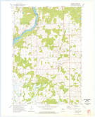 Download a high-resolution, GPS-compatible USGS topo map for Crescent, WI (1977 edition)