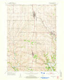 Download a high-resolution, GPS-compatible USGS topo map for Cuba City, WI (1954 edition)