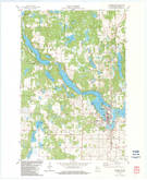 Download a high-resolution, GPS-compatible USGS topo map for Cumberland, WI (1983 edition)