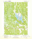 Download a high-resolution, GPS-compatible USGS topo map for Cutler, WI (1979 edition)