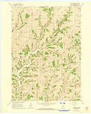 Download a high-resolution, GPS-compatible USGS topo map for Daleyville, WI (1964 edition)