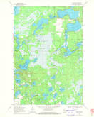Download a high-resolution, GPS-compatible USGS topo map for Dam Lake, WI (1972 edition)