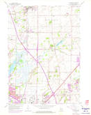 Download a high-resolution, GPS-compatible USGS topo map for De Forest, WI (1975 edition)