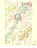 Download a high-resolution, GPS-compatible USGS topo map for De Pere, WI (1956 edition)