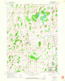 Download a high-resolution, GPS-compatible USGS topo map for Deerfield, WI (1964 edition)