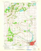 Download a high-resolution, GPS-compatible USGS topo map for Delavan, WI (1964 edition)