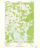 Download a high-resolution, GPS-compatible USGS topo map for Dewey Marsh, WI (1972 edition)