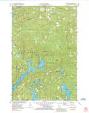 Download a high-resolution, GPS-compatible USGS topo map for Diamond Lake, WI (1984 edition)
