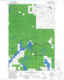 Download a high-resolution, GPS-compatible USGS topo map for Diamond Lake, WI (1985 edition)