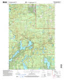Download a high-resolution, GPS-compatible USGS topo map for Diamond Lake, WI (2006 edition)