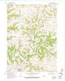 Download a high-resolution, GPS-compatible USGS topo map for Dickeyville, WI (1990 edition)