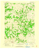 Download a high-resolution, GPS-compatible USGS topo map for Dickeyville, WI (1962 edition)