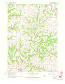 Download a high-resolution, GPS-compatible USGS topo map for Dickeyville, WI (1973 edition)