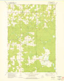 Download a high-resolution, GPS-compatible USGS topo map for Doering, WI (1976 edition)