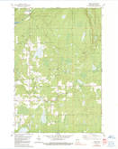 Download a high-resolution, GPS-compatible USGS topo map for Dover, WI (1991 edition)