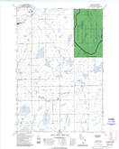 Download a high-resolution, GPS-compatible USGS topo map for Dover, WI (1992 edition)