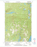 Download a high-resolution, GPS-compatible USGS topo map for Drummond, WI (1989 edition)