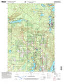 Download a high-resolution, GPS-compatible USGS topo map for Drummond, WI (2006 edition)