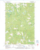 Download a high-resolution, GPS-compatible USGS topo map for Dunbar NE, WI (1991 edition)
