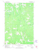Download a high-resolution, GPS-compatible USGS topo map for Dunbar NE, WI (1974 edition)