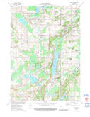 Download a high-resolution, GPS-compatible USGS topo map for Dundee, WI (1989 edition)