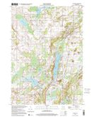 Download a high-resolution, GPS-compatible USGS topo map for Dundee, WI (2001 edition)