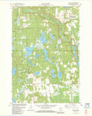 Download a high-resolution, GPS-compatible USGS topo map for Dunn Lake, WI (1983 edition)