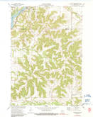 Download a high-resolution, GPS-compatible USGS topo map for Durand South, WI (1991 edition)