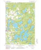 Download a high-resolution, GPS-compatible USGS topo map for Eagle River East, WI (1984 edition)