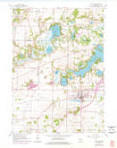 Download a high-resolution, GPS-compatible USGS topo map for East Troy, WI (1977 edition)