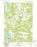 Download a high-resolution, GPS-compatible USGS topo map for Easton, WI (1984 edition)