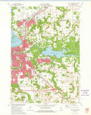 Download a high-resolution, GPS-compatible USGS topo map for Eau Claire East, WI (1975 edition)