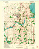 Download a high-resolution, GPS-compatible USGS topo map for Edgerton, WI (1964 edition)