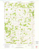 Download a high-resolution, GPS-compatible USGS topo map for El Paso, WI (1977 edition)