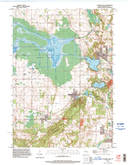 Download a high-resolution, GPS-compatible USGS topo map for Elkhart Lake, WI (1996 edition)