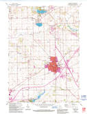 Download a high-resolution, GPS-compatible USGS topo map for Elkhorn, WI (1994 edition)