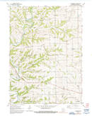 Download a high-resolution, GPS-compatible USGS topo map for Ellenboro, WI (1992 edition)