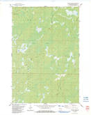 Download a high-resolution, GPS-compatible USGS topo map for Empire Swamp, WI (1983 edition)