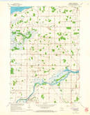 Download a high-resolution, GPS-compatible USGS topo map for Eureka, WI (1966 edition)