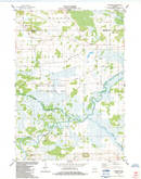 Download a high-resolution, GPS-compatible USGS topo map for Fairburn, WI (1984 edition)