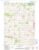 Download a high-resolution, GPS-compatible USGS topo map for Five Corners, WI (1994 edition)