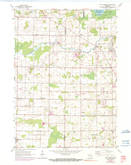 Download a high-resolution, GPS-compatible USGS topo map for Five Corners, WI (1990 edition)
