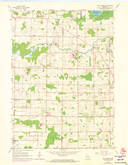 Download a high-resolution, GPS-compatible USGS topo map for Five Corners, WI (1973 edition)