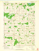 Download a high-resolution, GPS-compatible USGS topo map for Five Corners, WI (1964 edition)