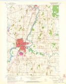 Download a high-resolution, GPS-compatible USGS topo map for Fort Atkinson, WI (1972 edition)