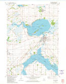 Download a high-resolution, GPS-compatible USGS topo map for Fox Lake, WI (1981 edition)