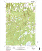 Download a high-resolution, GPS-compatible USGS topo map for Foxboro, WI (1984 edition)